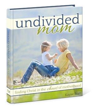 undivided mom book kayse pratt