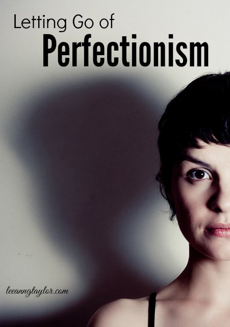 I Am Who He Says I Am: Letting Go of Perfectionism