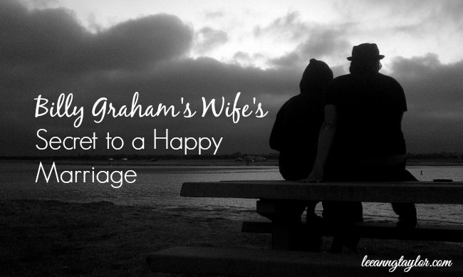 Billy Graham's Wife's Secret to a Happy Marriage