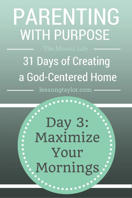 Parenting With Purpose Day 3