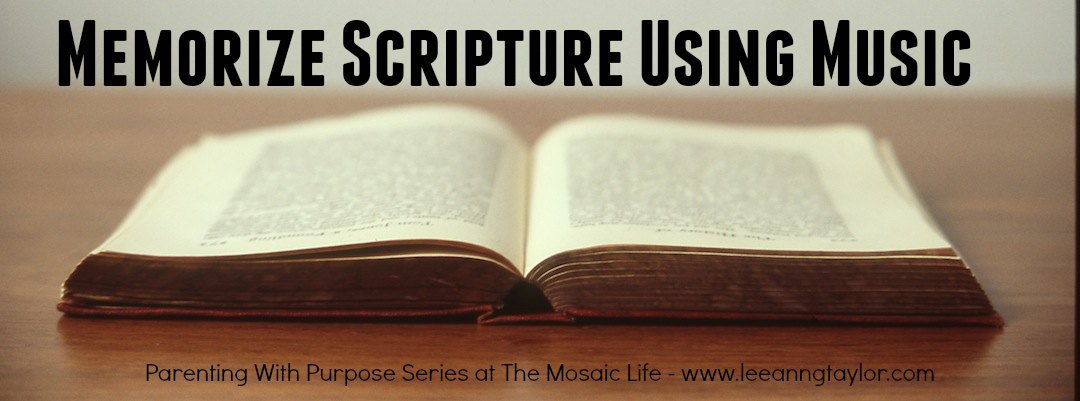 Parenting With Purpose - Memorize Scripture With Music