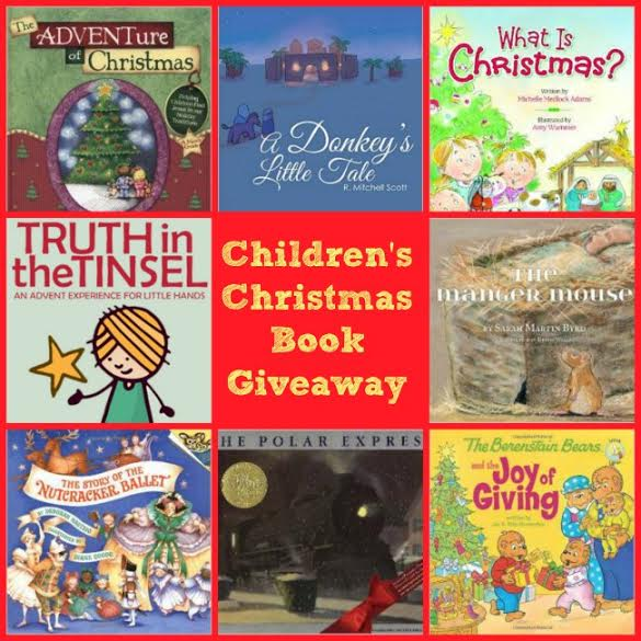 Children's Christmas Book Giveaway