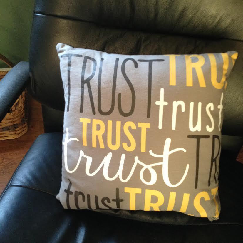 trust pillow